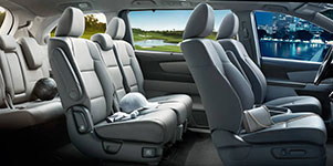 2017 Honda Odyssey Stylish and Practical Interior