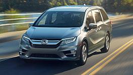 2018 Honda Odyssey New Styling