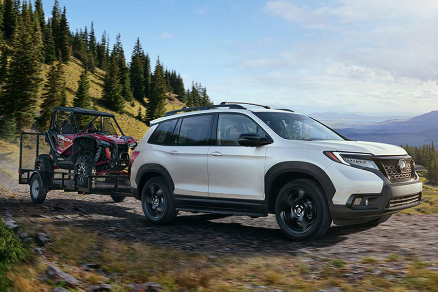 2020 Honda Passport Towing