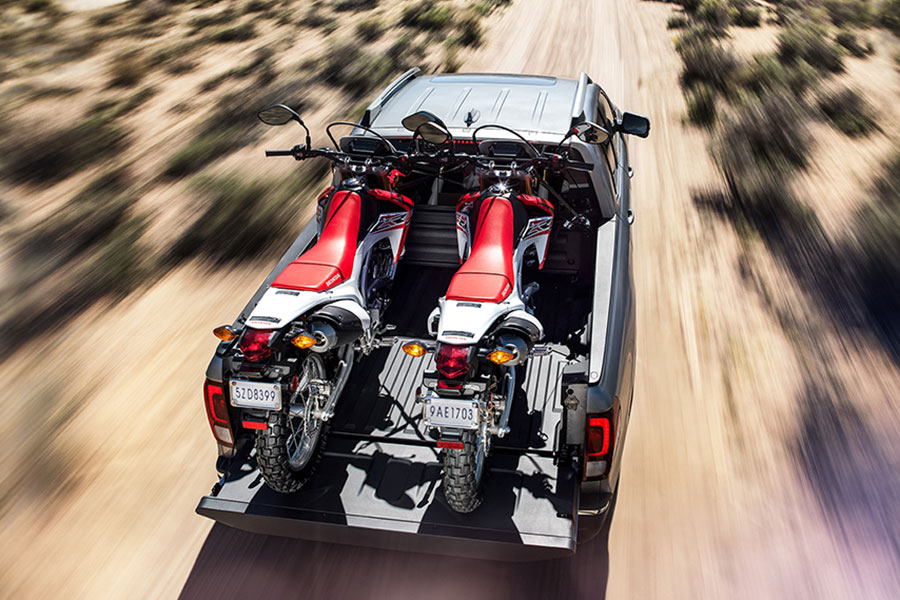 2019 Honda Ridgeline Hauling