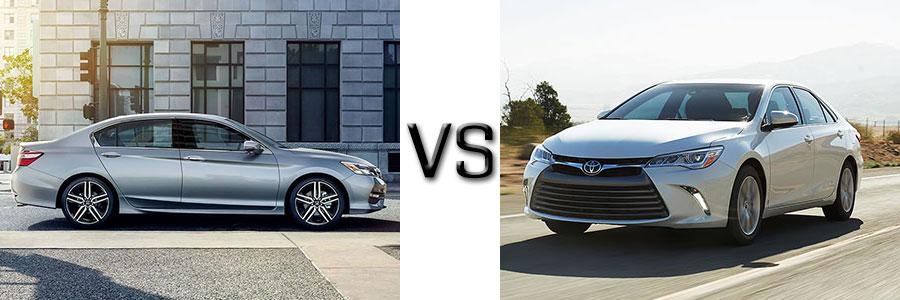 2017 Honda Accord vs Toyota Camry