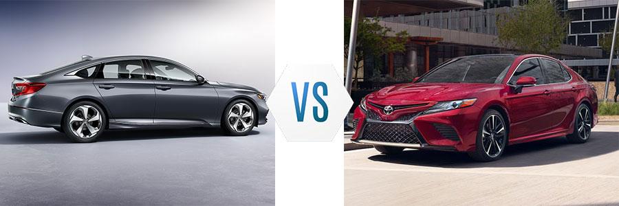2018 Honda Accord vs Toyota Camry