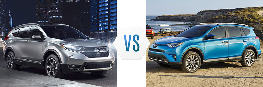 2017 honda cr v vs toyota rav4 dick hannah honda for Honda rav 4