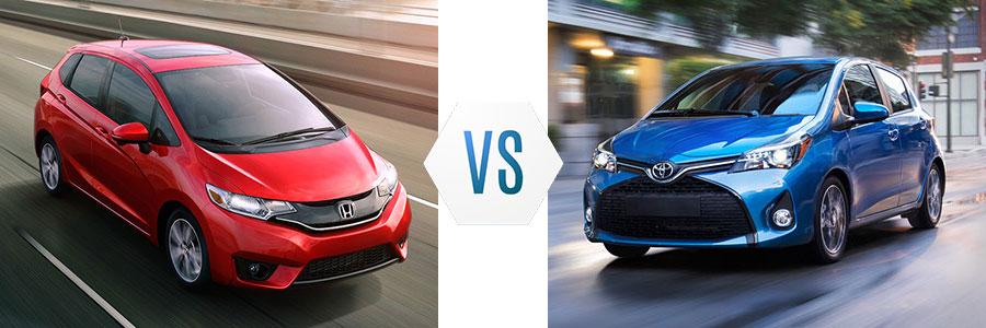 2017 Honda Fit vs Toyota Yaris