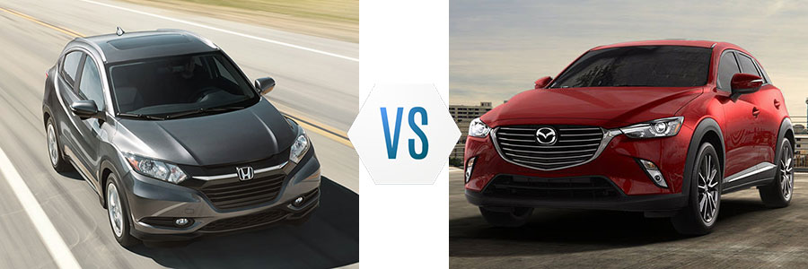 2017 Honda HR-V vs Mazda CX-3