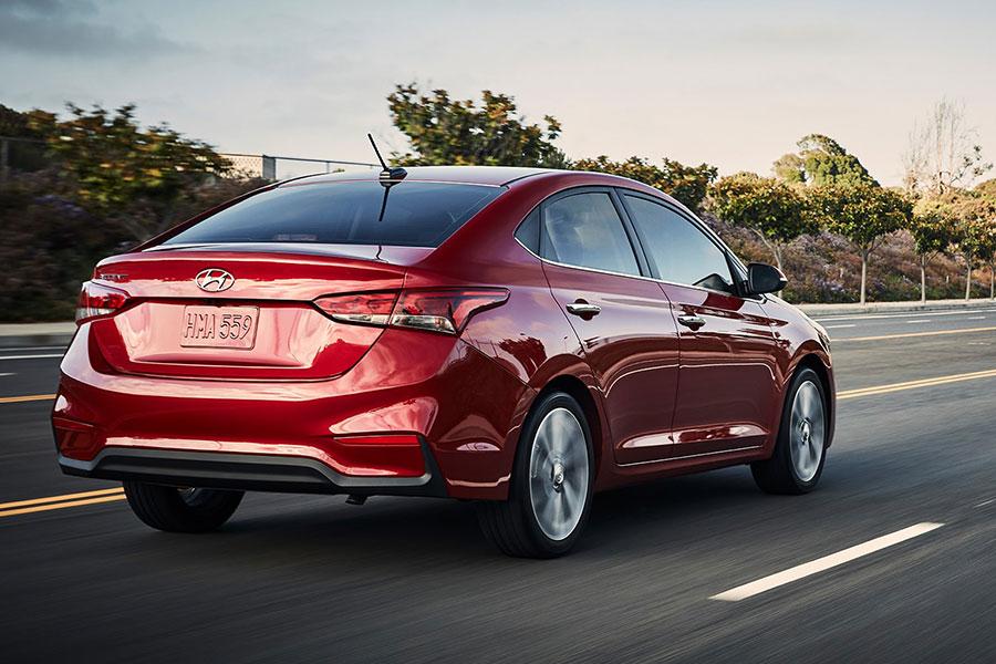 2019 Hyundai Accent Exterior