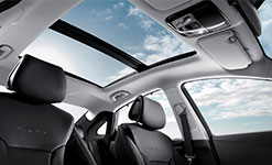 2017 Hyundai Azera Panoramic Sunroof