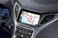 2017 Hyundai Azera Turn-by-Turn Navigation
