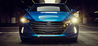 2017 Hyundai Elantra High Beam Assist