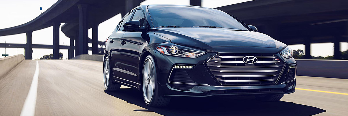 2018 Hyundai Elantra On Road