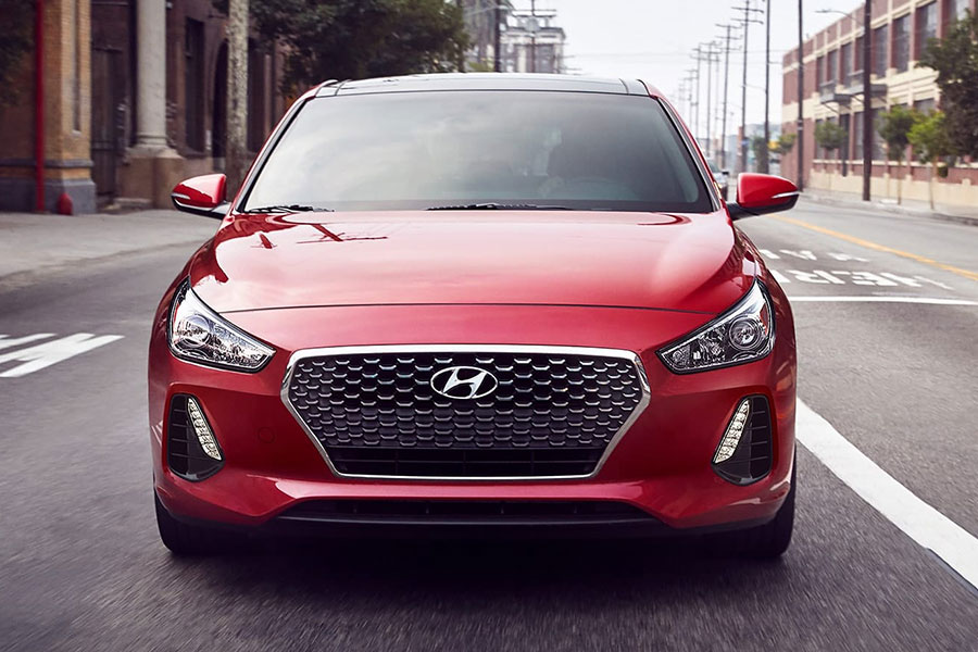 2019 Hyundai Elantra GT on the Road