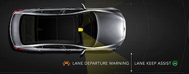 2016 Hyundai Genesis Lane Departure Warning