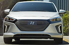 2017 Hyundai Ioniq Hybrid LED Daytime Running Lights