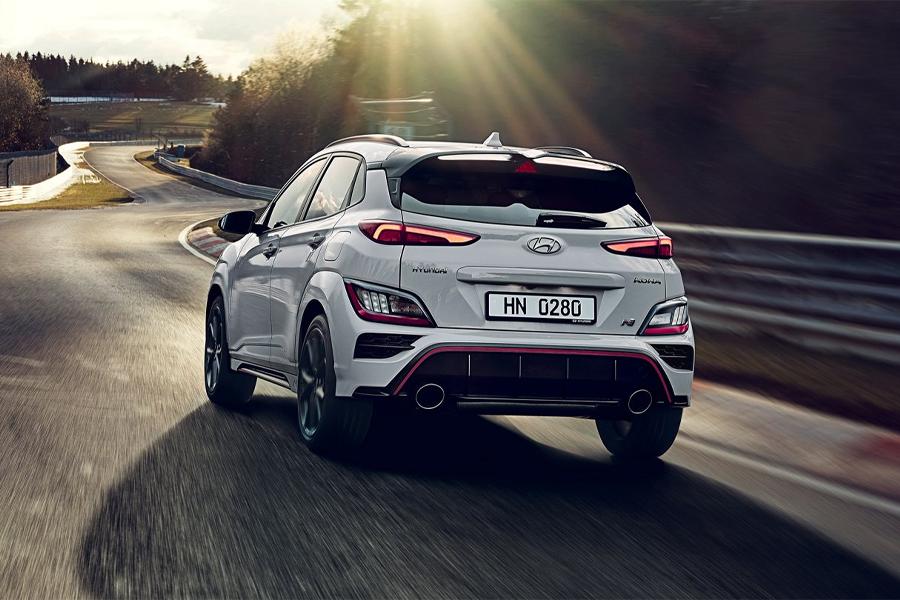 2022 Hyundai Kona N on the Road
