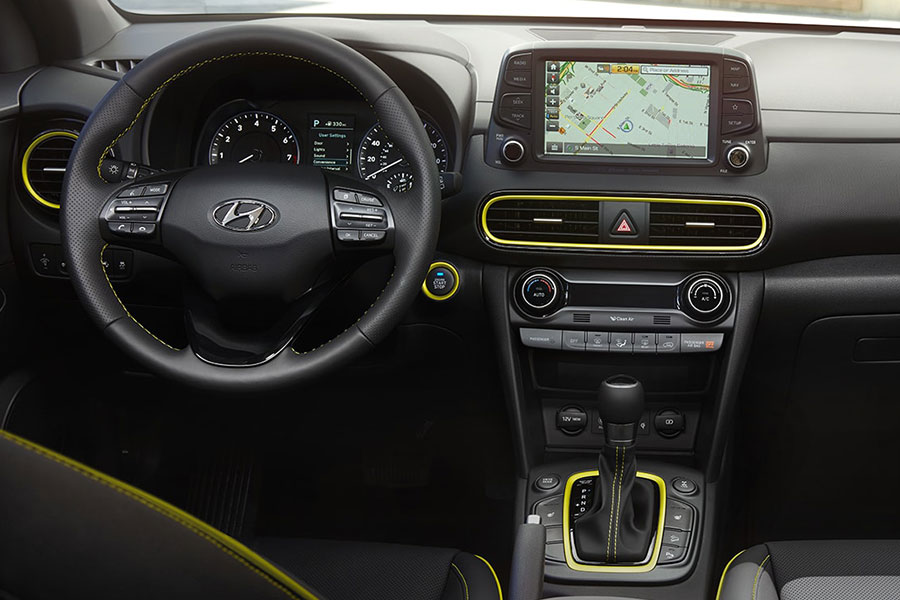 2019 Hyundai Kona Technology
