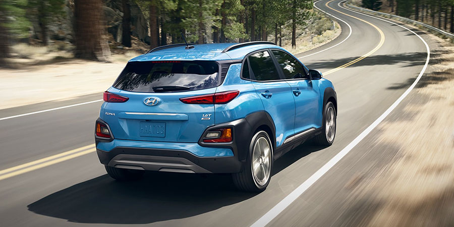 2019 Hyundai Kona on the Road