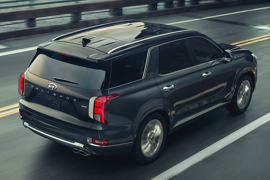 2020 Hyundai Palisade on the Road