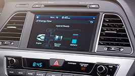 2017 Hyundai Sonata Hybrid 8 Inch Touch Screen