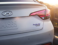 2017 Hyundai Sonata Hybrid Backup Parking Sensors