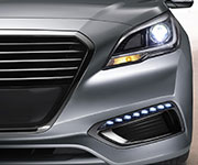 2017 Hyundai Sonata Hybrid LED Daytime Running Lights