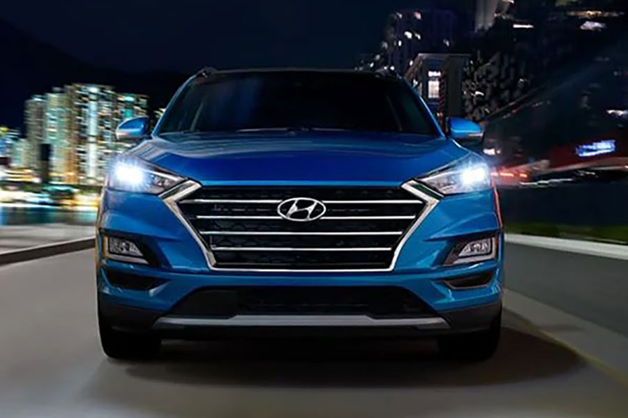 2019 Hyundai Tucson on the Road