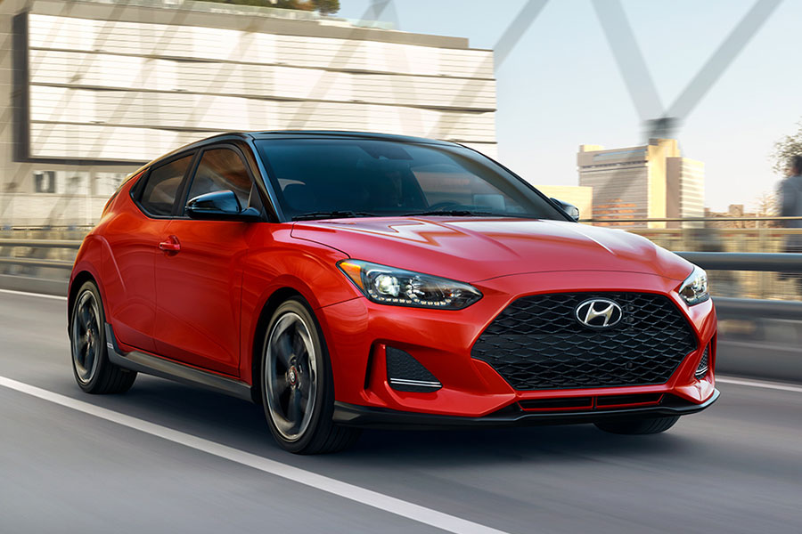 2019 Hyundai Veloster On The Road