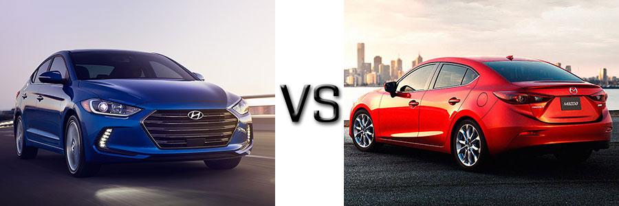 Mazda3 Vs Hyundai Elantra >> 2017 Hyundai Elantra Vs Mazda 3