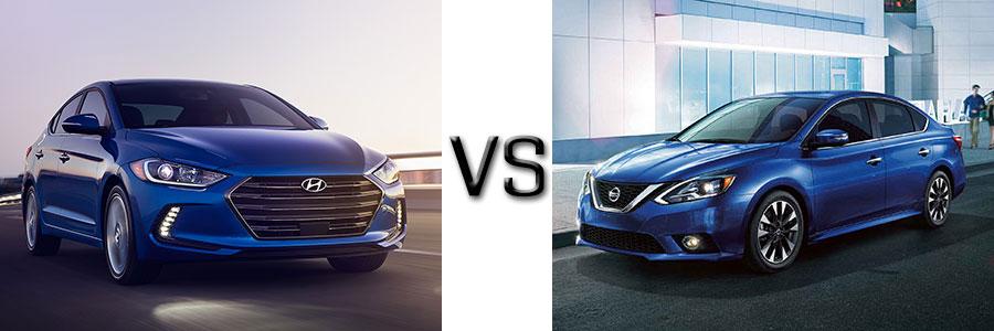 2017 Hyundai Elantra vs Nissan Sentra