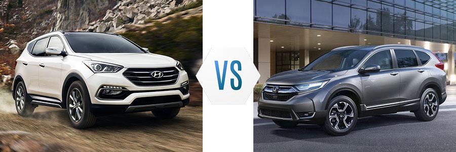 2018 Hyundai Santa Fe Sport vs Honda CR-V