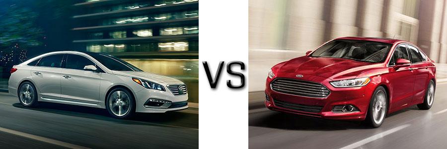 2017 Hyundai Sonata vs Ford Fusion
