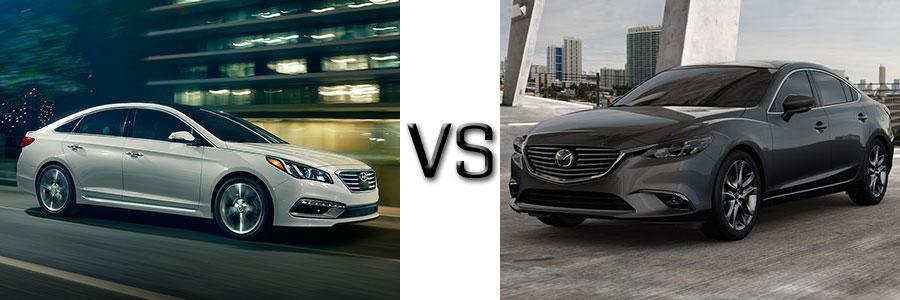 2016 Hyundai Sonata vs Mazda 6