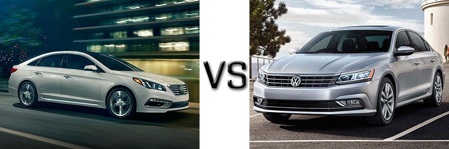 2016 Hyundai Sonata vs VW Passat