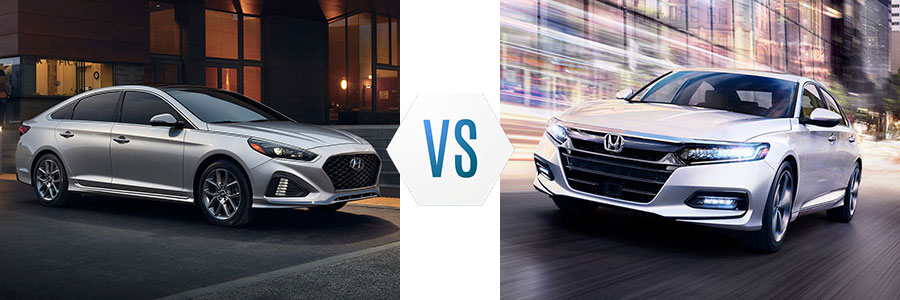 2019 Hyundai Sonata vs Honda Accord