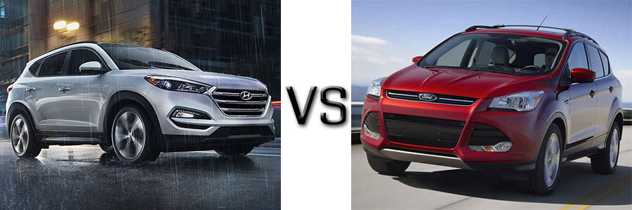 2016 Hyundai Tucson vs Ford Escape