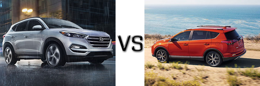2016 Hyundai Tucson vs Toyota RAV4