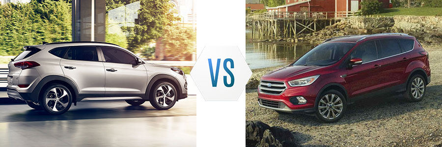 2018 Hyundai Tucson vs Ford Escape
