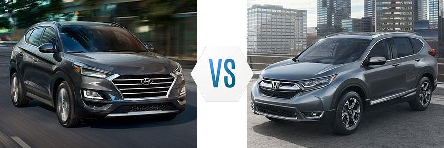 2019 Hyundai Tucson vs Honda CR-V