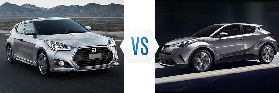 2017 Hyundai Veloster Vs Toyota C Hr