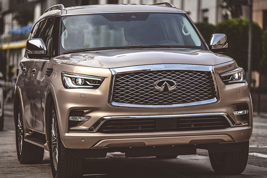 2020 Infiniti QX80 on the Road