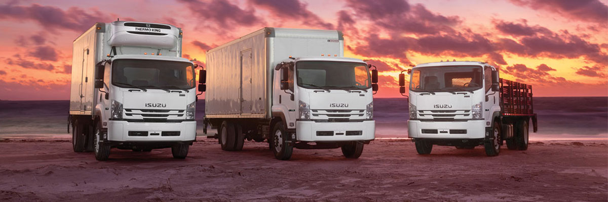 The New Class 6 Isuzu F-Series Work Trucks