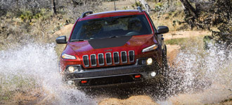2016 Jeep Cherokee Off-Road Performance