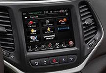 2016 Jeep Cherokee Uconnect 8.4 Nav