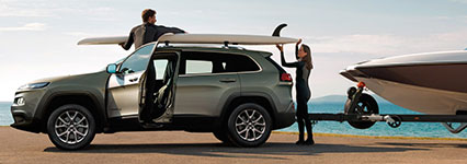 2017 Jeep Cherokee Two-ton Towing