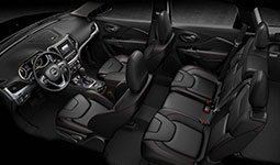 2016 Jeep Cherokee Latitude Versatile Cabin