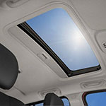 2017 Jeep Compass Dual Pane Sunroof