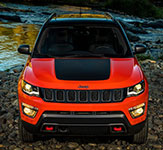 2017 Jeep Compass Signature Grille