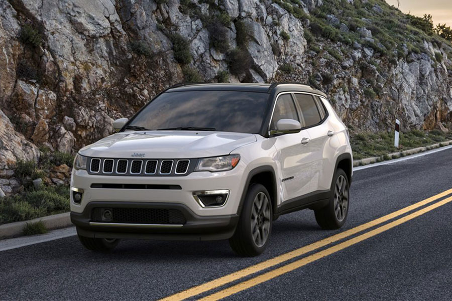 2020 Jeep Compass on the Road