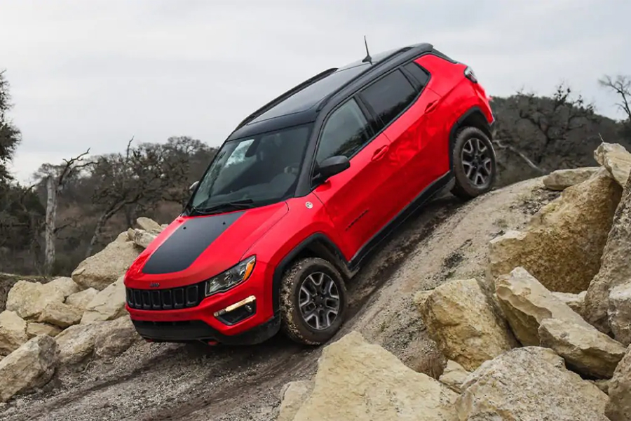 2021 Jeep Compass Off Roading