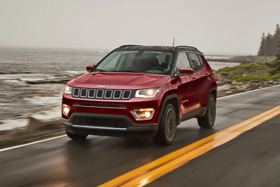 2021 Jeep Compass on the Road