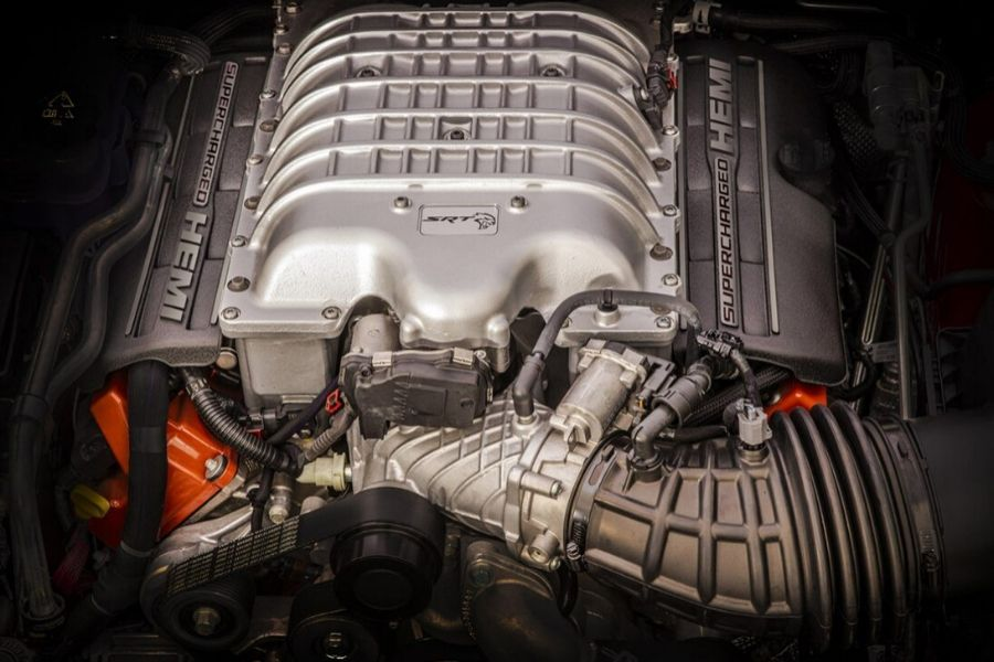 2020 Jeep Grand Cherokee Engine